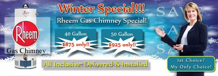 Water Heater Services Hudson County, NJ - Banner
